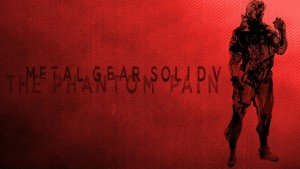 Metal Gear Solid 5 The Phantom Pain red background
