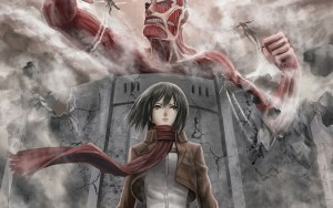 Mikasa Ackerman Attack On Titan