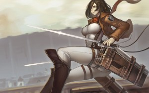 Mikasa Ackerman Attack On Titan High Definition wallpaper