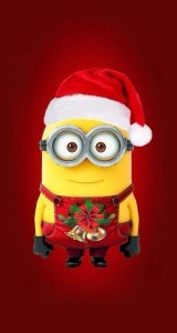 Minion Christmas mobile 2016