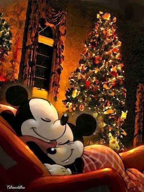 Minnie and Mickey Christmas HD image for Android