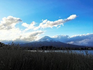 Mount Fuji clouds High Definition wallpaper