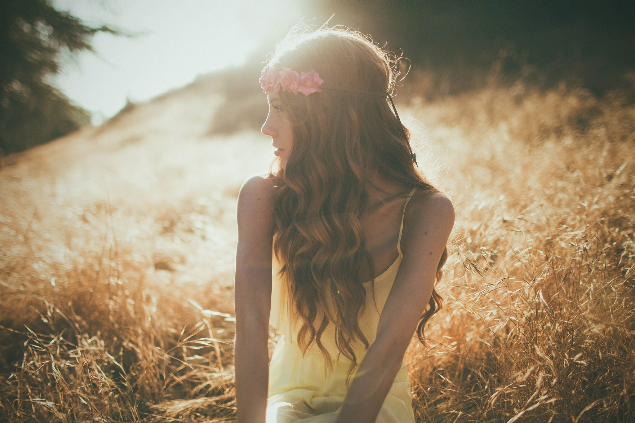 Nature beauty girl HD wallpapers