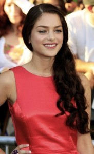 Best image of Odeya Rush red dress