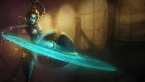 League of Legends Orianna HD for desktop