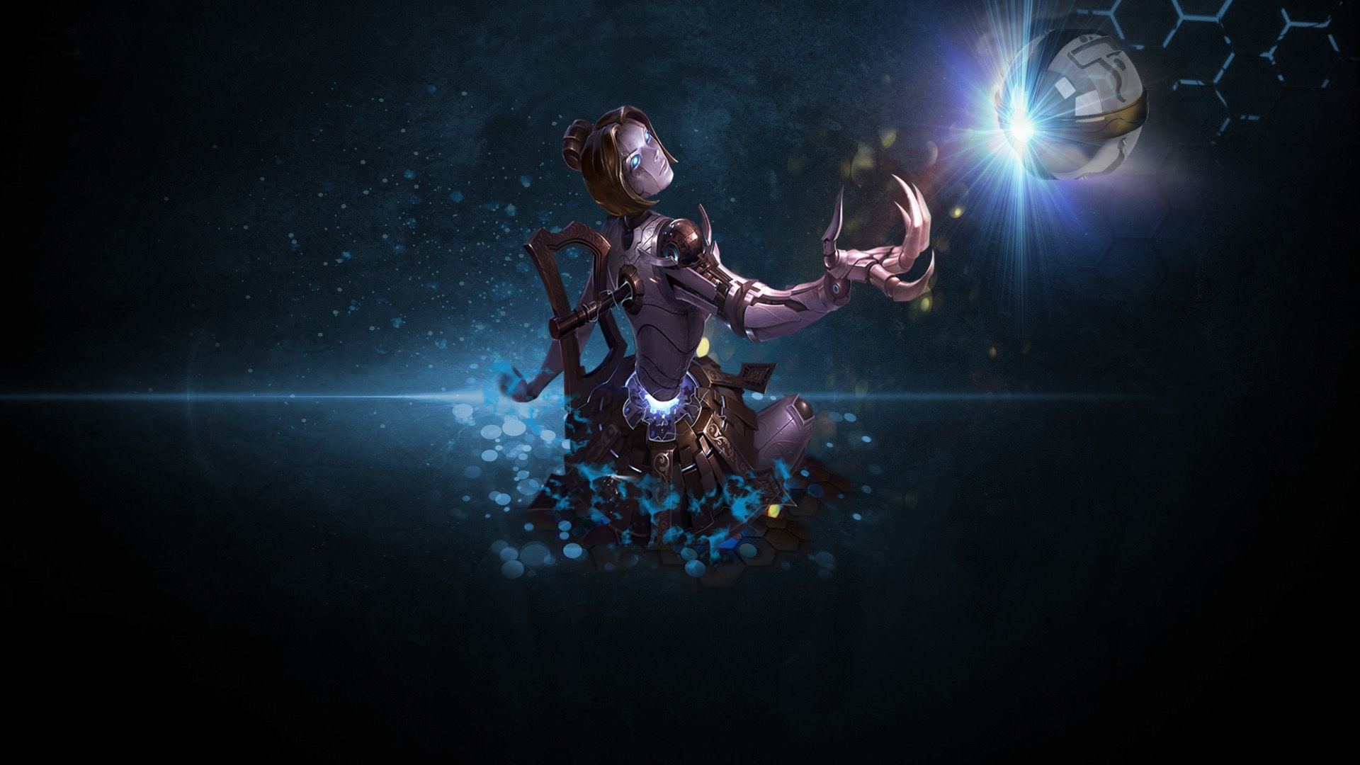 League of Legends Orianna HD wallpapers