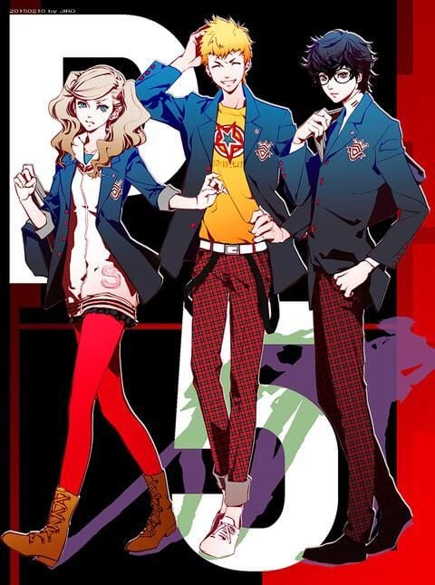 Persona 5 HD for mobiles