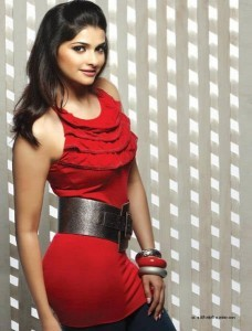 Prachi Desai in red dress themes for iPhone