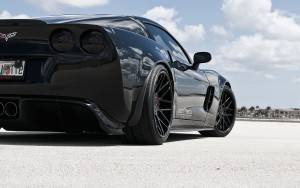 Rear bumper of Chevrolet Corvette C6 Z06 HD for desktop