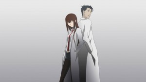 Awesome Rintarou Okabe and Kurisu Makise Steins Gate picture