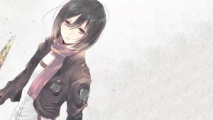 Sad Mikasa Ackerman Attack On Titan HD photo