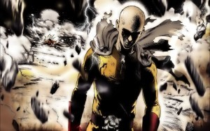 One Punch Man Saitama High Definition wallpaper