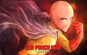 One Punch Man Saitama HD for desktop