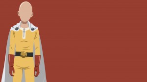 One Punch Man Saitama vector full HD image