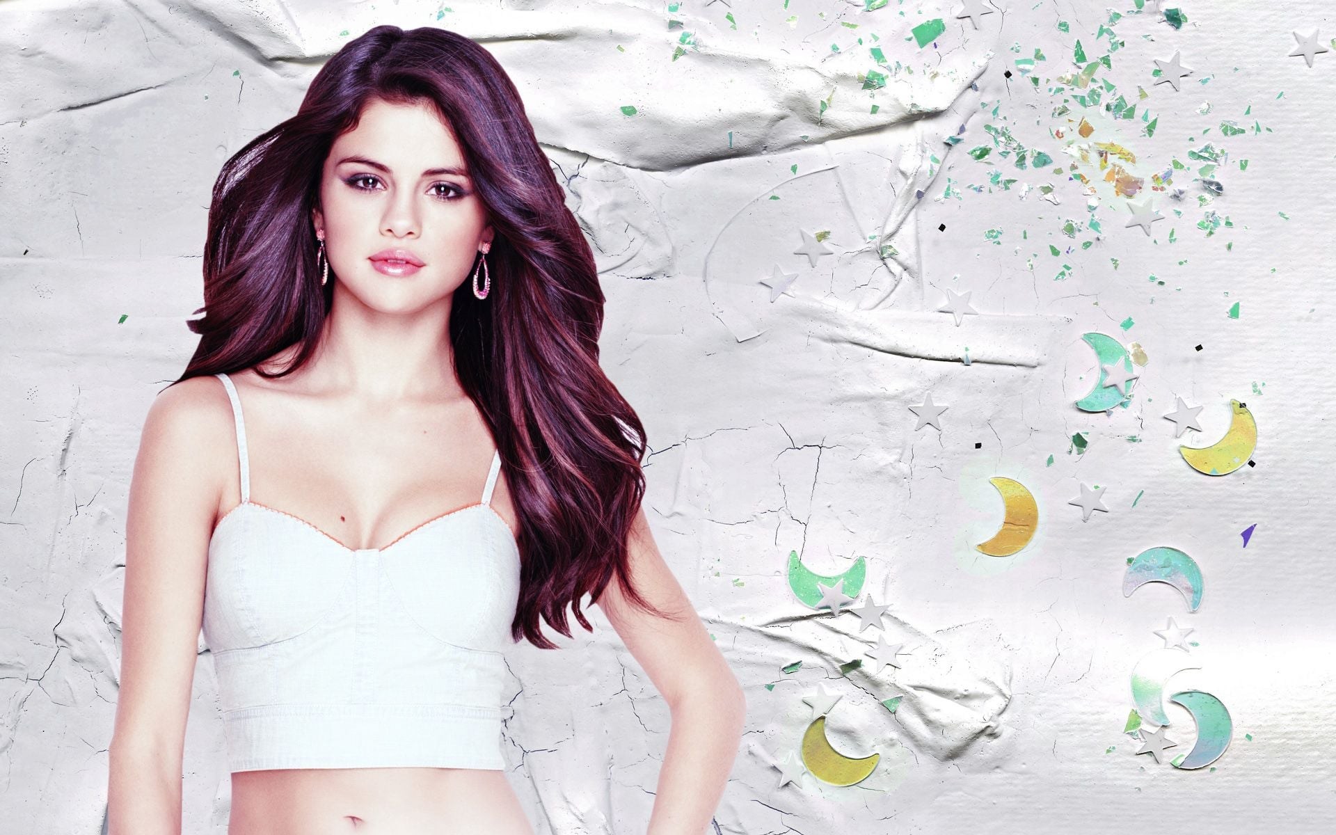 selena gomez abstract wallpaper - photo #1