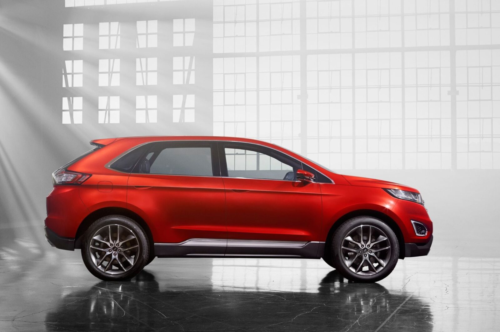 Best Image Of Ford Edge 2016 Side View