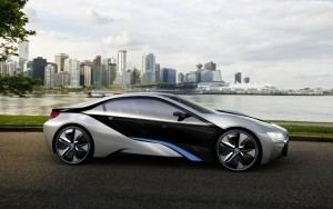 Silver-black BMW i8 High Quality wallpapers