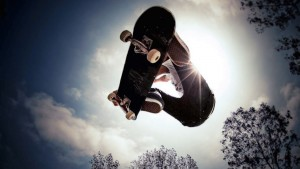 Full HD pics of skateboarding