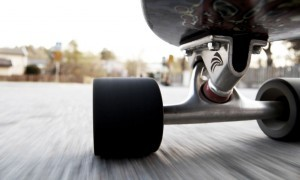 Skateboarding speed wallpaper