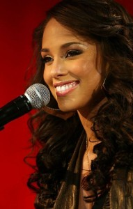 Free pic of Smile Alicia Keys Android