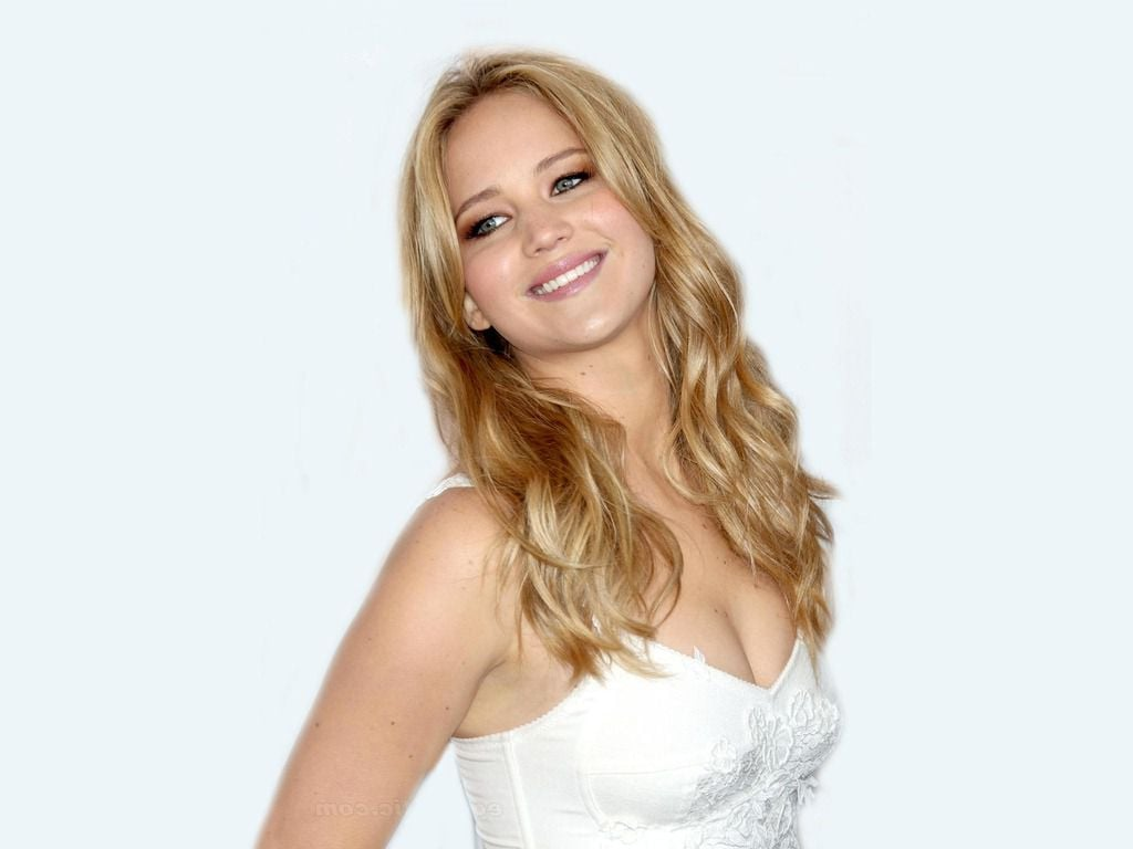 Extraordinary Smile of blonde Jennifer Lawrence image