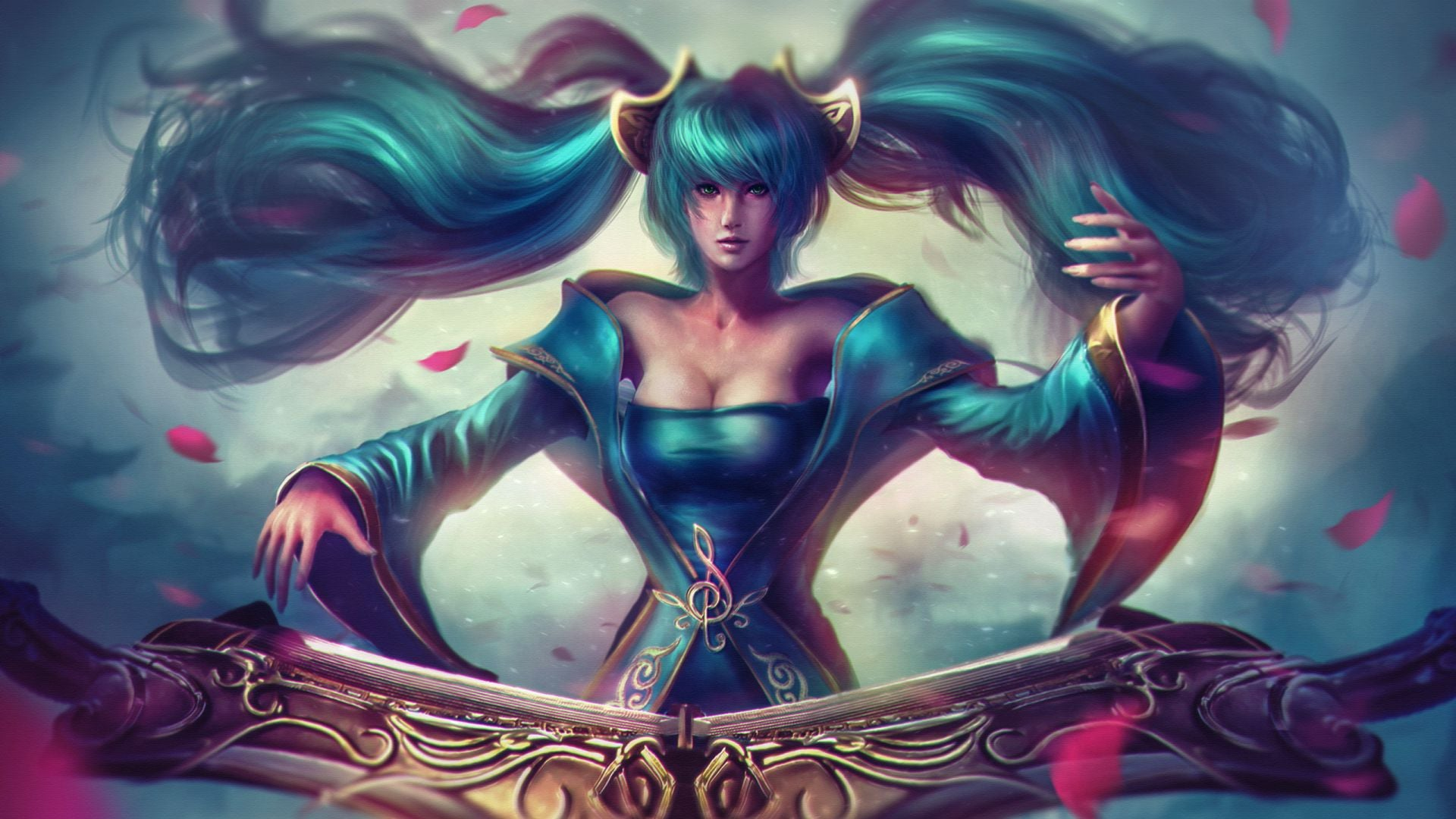 League of Legends Sona themes for PC