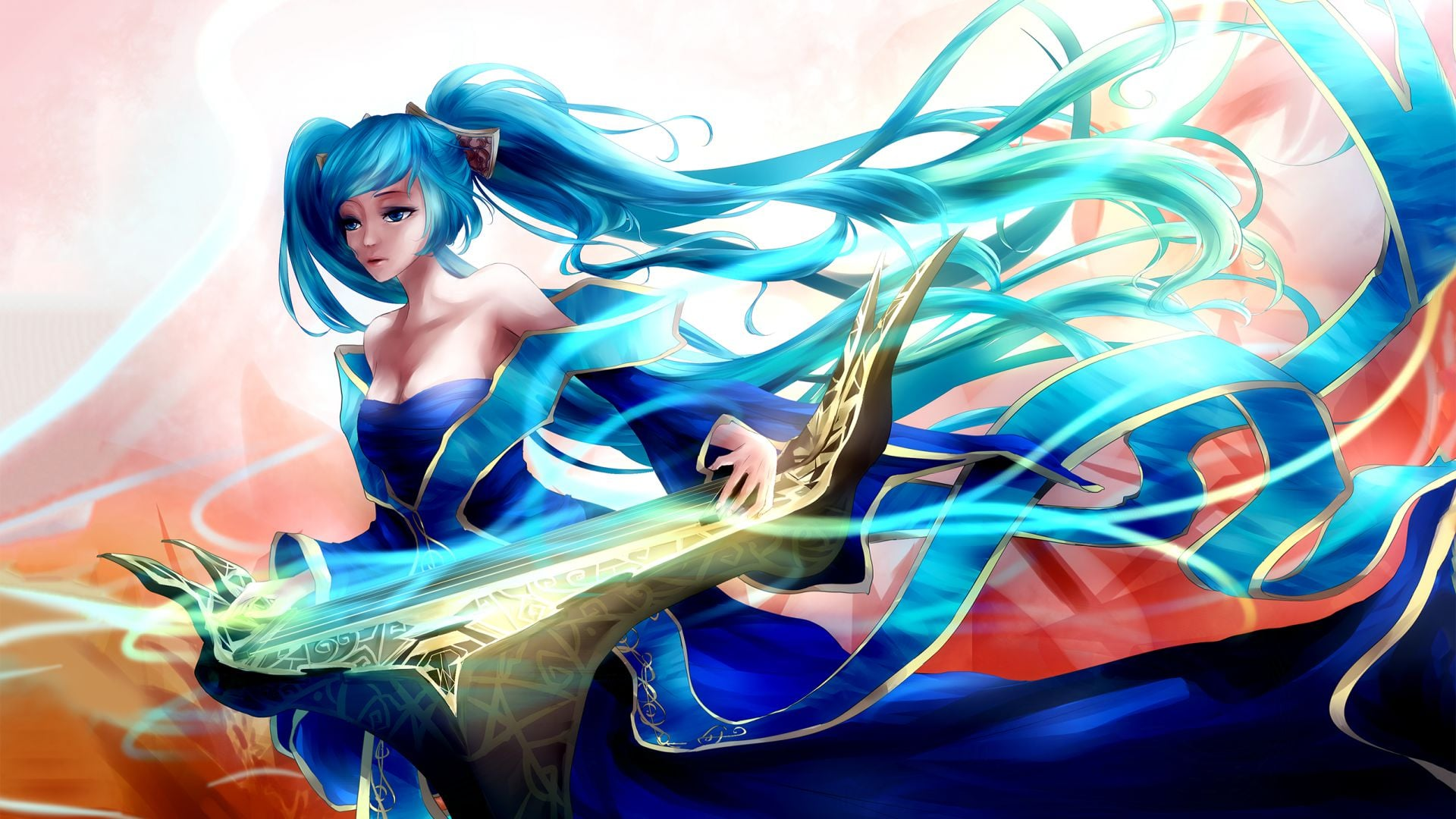 League of Legends Sona HD pic