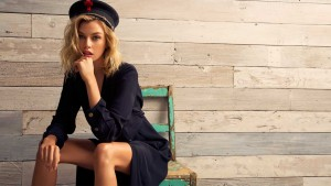 Stella Maxwell in a hat themes for PC