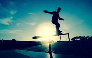 Download Skateboarding image