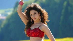 Tamanna red dress High Resolution wallpaper