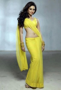 Tamanna yellow dress HD for iPhone