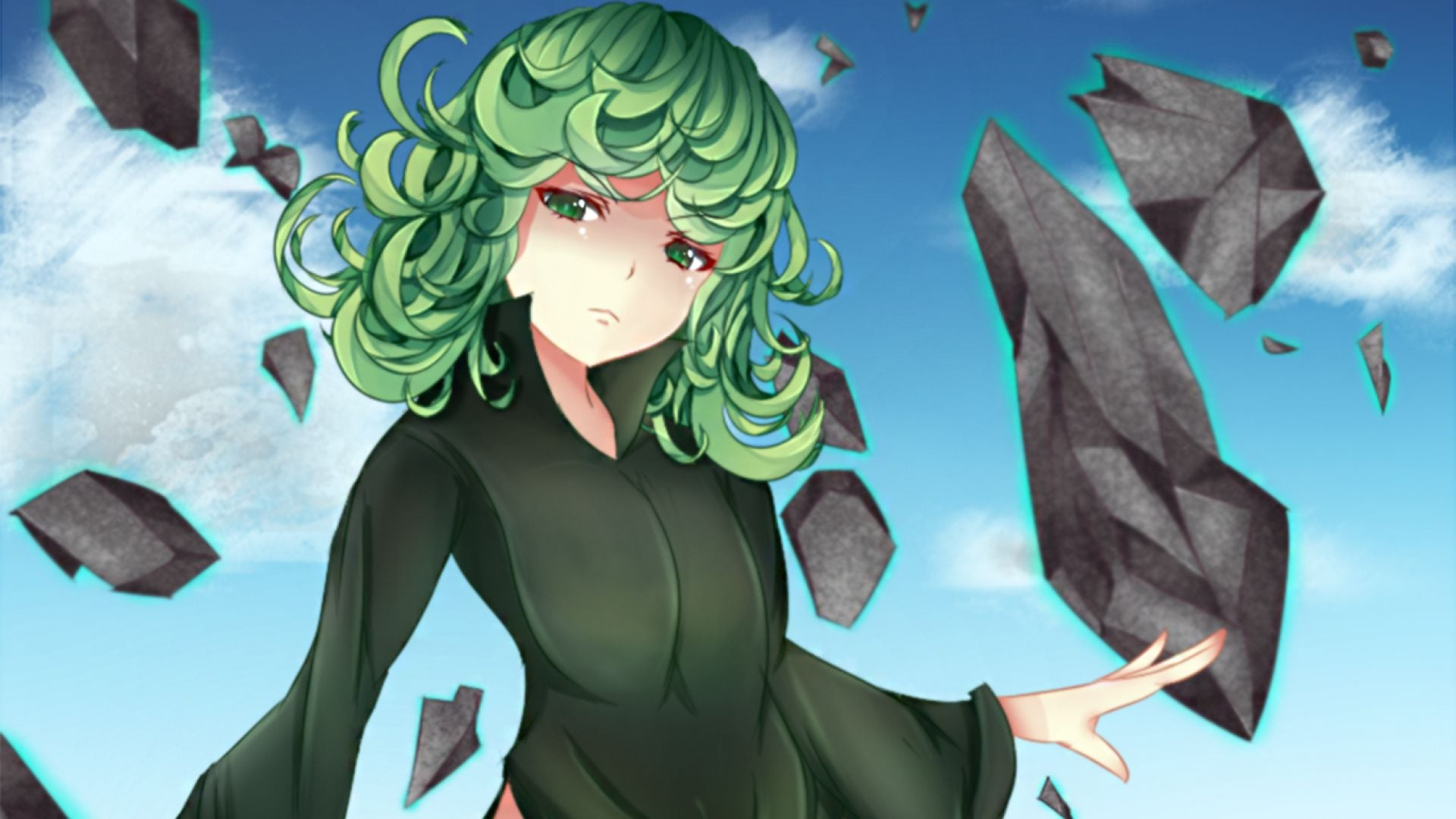 One Punch Man Tatsumaki High Quality wallpapers