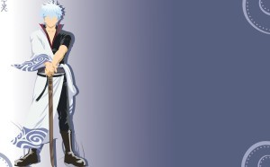 Vector Gintoki Sakata HD for desktop