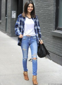 Victoria Justice style