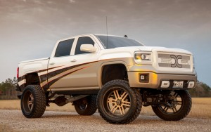 White 2014 GMC Sierra High Definition wallpaper