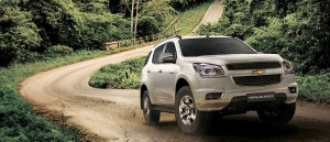 Full HD pics of White Chevrolet Trailblazer