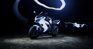 White Kawasaki Ninja High Resolution