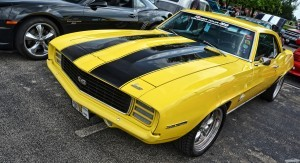 1969 Chevy Camaro SS yellow 2