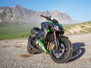 Kawasaki Z1000 wallpaper