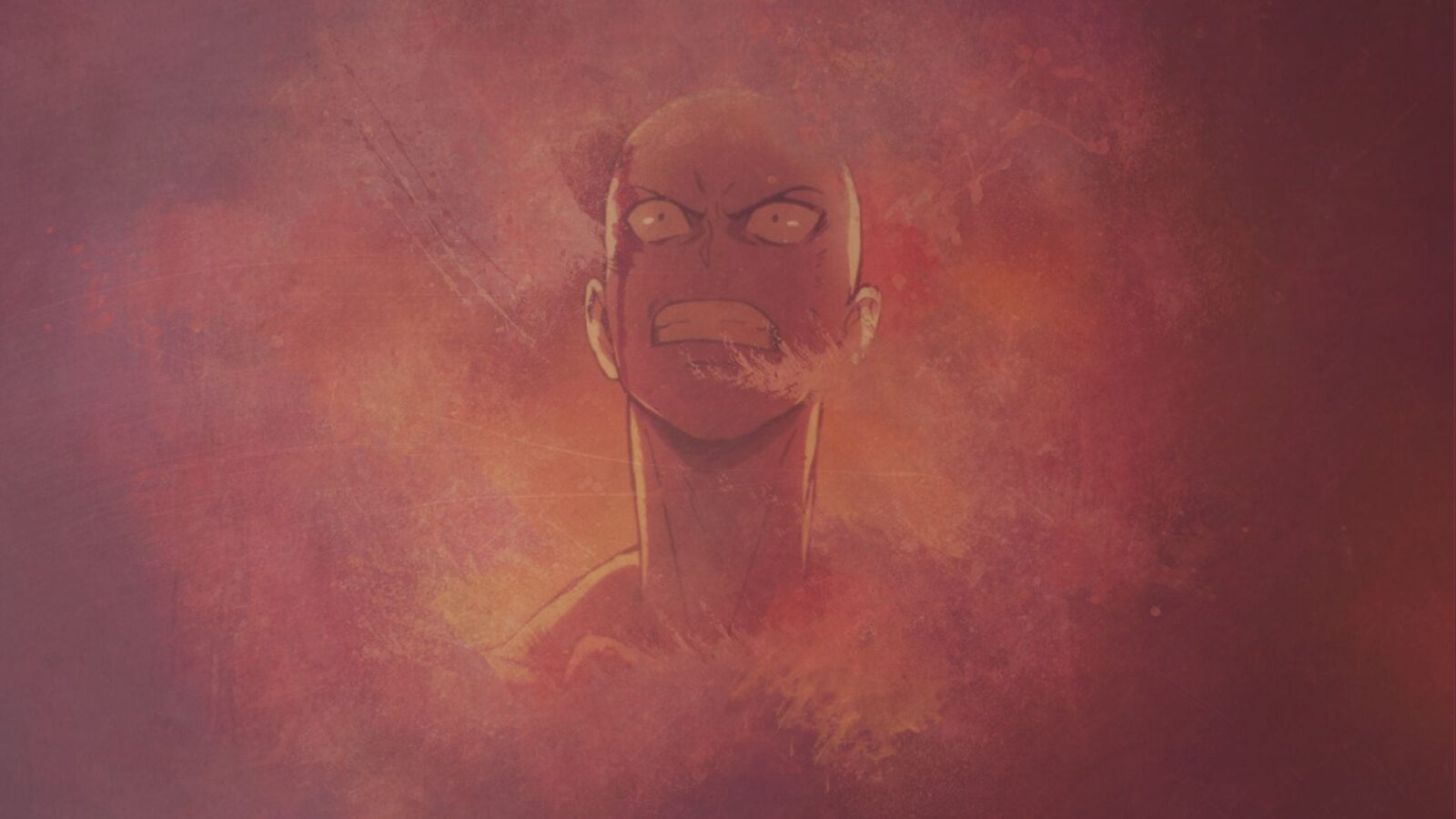 angry Saitama One Punch Man wallpaper