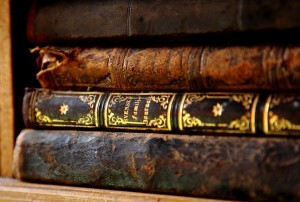 wallpaper of antique book