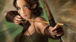art Jennifer Lawrence with bow pictures