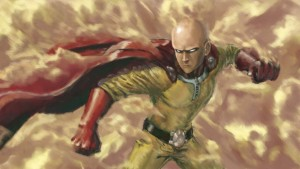 art Saitama One Punch Man photo