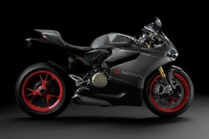 black Ducati 1199 Panigale R pictures