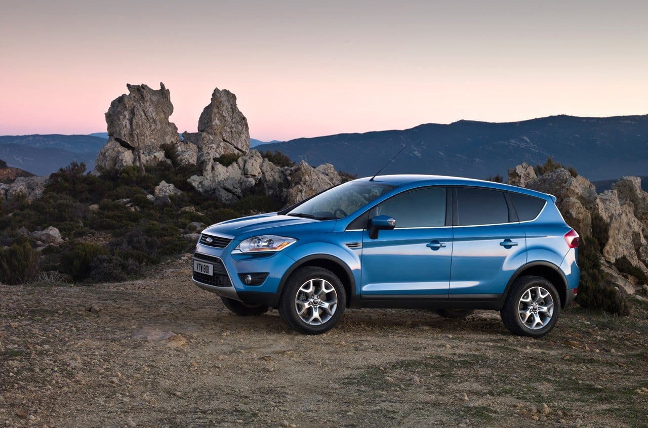 Blue Ford Escape wallpapers