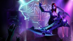 crazy Sona League of Legends HD 1080p wallpaper