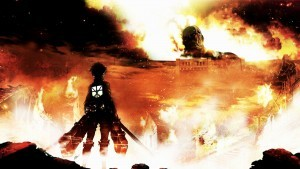 fire Attack On Titan Eren Yeager