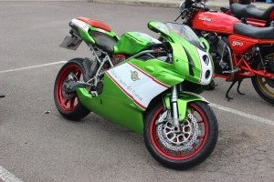 green Ducati 999 full HD
