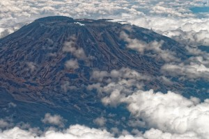 travel mount Kilimanjaro view from above 2016