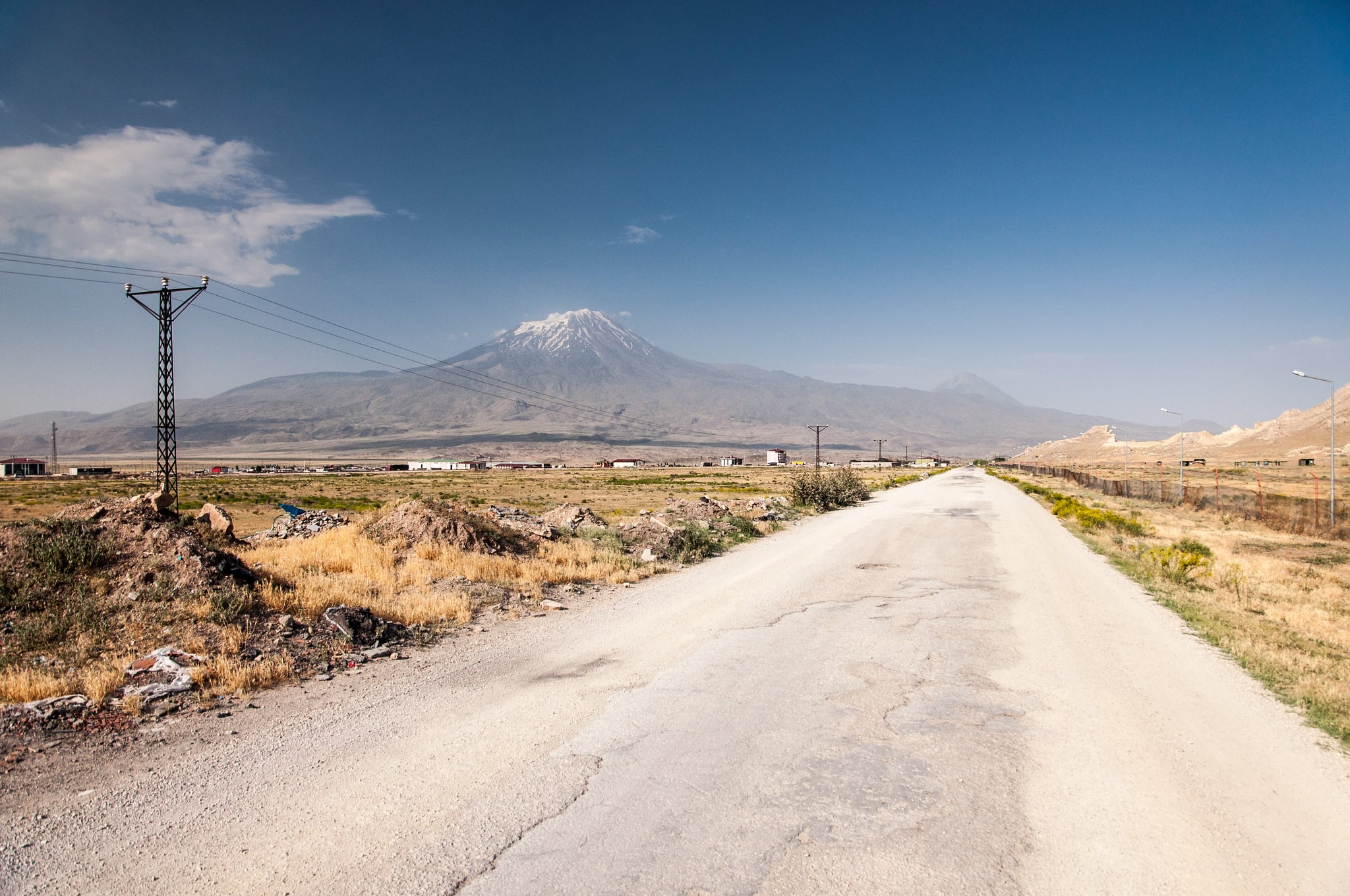 travel road to the mount Ararat new wallpapers